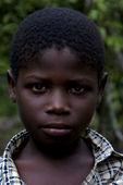Portraif of a little chilld male in the isle of zanzibar — Stock Photo