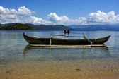 Boats in madagascar land — Stock Photo