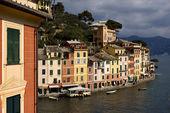 Portofino in the north of italy — Stockfoto