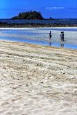 In andilana beach — Stock Photo