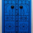 Stock Photo: Close door in sidi bou said,tunisia