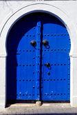 Door in sidi bou said — Stock Photo
