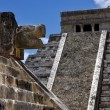 Chichen itza temple,kukulkan - Stock Photo
