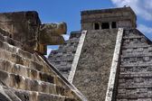 Chichen itza temple,kukulkan — Stock Photo