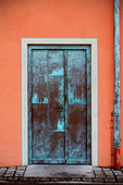 Porta em füssen alemanha — Fotografia Stock