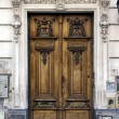 Brown wood old door argentina — Stock Photo #19172189