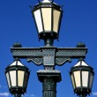 Green street lamp — Stock Photo #19811909