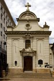 Capila san roque in the center of buenos aires — Stock Photo