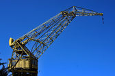 Sky and crane — Stock Photo