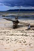Lagoa do morro e costa de madagáscar — Foto Stock