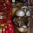 Hinduism  head of lion — Stockfoto