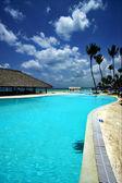 мир мрамора и отдохнуть недалеко от карибского бассейна — Стоковое фото