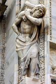Italy statue of men — Foto de Stock