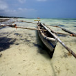 Stockfoto: Boat beach rope sand