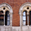 Brown and window reflex in milan — Stock Photo