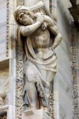 Italy statue of a men — Stockfoto