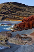 In el golfo lanzarote spain — Photo