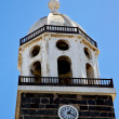 Lanzarote  spain the old wall tower in teguise arrecife — Stock Photo