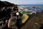 Landscape in lanzarote spain isle — Stock Photo