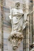 церковь в милане ангел креста — Стоковое фото