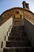 лансароте кастильо-де-лас испания старая башня стены замка — Стоковое фото