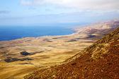 La costa vista desde el África y casa de campo — Foto de Stock