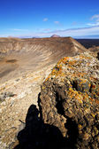 Timanfaya in los volcanic r — Stock Photo
