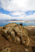 гавань рок камень неба облако лодка — Стоковое фото