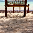 Seat deck beach rope — Stockfoto