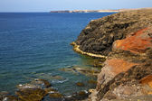 Water ce and summer in el golfo lanzarote — Stock fotografie