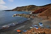 лодки мускус пруд рок камень — Стоковое фото