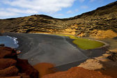 Coastline and summer in el golfo lanzarote — Stock fotografie