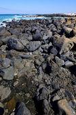 Sky light beach water spain landscape stone cloud — Stock Photo
