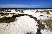 Spain white beach spiral of — Stock Photo