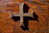 真鍮のクロス カスティリオーネ オローナ ヴァレーゼ イタリア — ストック写真