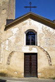 Church  castronno  italy the  wall terrace  window — Stock Photo