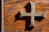 Abstract cross   olona varese italy — Stock Photo