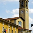 Flag church albizzate varese — Stock Photo #49054013