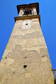 Castronno old abstract in   church tower bell sunny day — Stock Photo