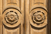 Mcurch  closed wood lombardy italy  varese lonate pozzolo — Stock Photo