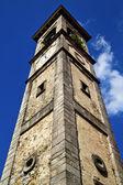 Optical sumirago varese rose window church  italy — Stock Photo