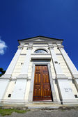 Sumirago old architecture in  italy    and church in sunny day — Stock Photo