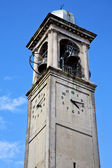 Cardano campo  old  tower bell sunny day  — Foto Stock