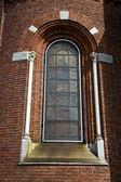 Tradate Italia abstracta ventana monumento iglesia — Foto de Stock