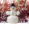Christmas on the white background - Stock Photo