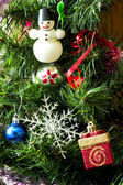 Christmas on the white background — Stock Photo