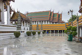 白い背景の上の寺院 — ストック写真
