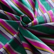Madras - colorful striped oriental material — Stock Photo
