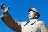 Chairman Mao's Statue — Stock Photo