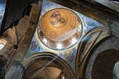 Fresco of Jesus in the church — Stock Photo